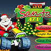 Play ATV Race with Santa