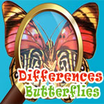 Play Differences - Butterflies