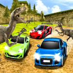 Play Dino Car Race