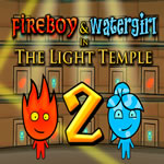 Play Fireboy and Watergirl 2: The Light Temple