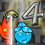 Play Fireboy and Watergirl 4: In the Crystal Temple
