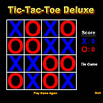 Play Tic-Tac-Toe Deluxe