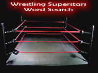 Wrestling Superstars Word Search